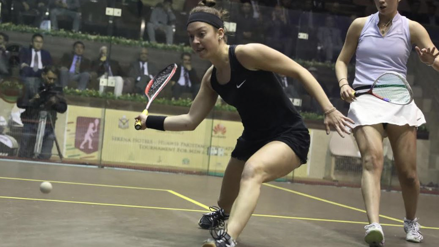Sabrina Sobhy Extends PSA Title Streak With Third in Pakistan